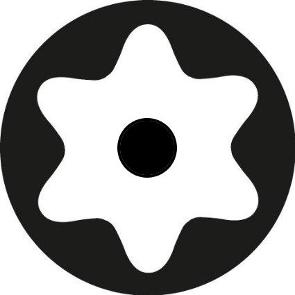 Набор отверток TORX® BO для электронщиков Wera 05118154001