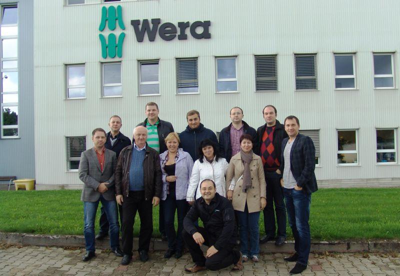 На заводе Wera в Чехии