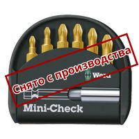 Набор WERA Mini-Check TiN PZ 056287